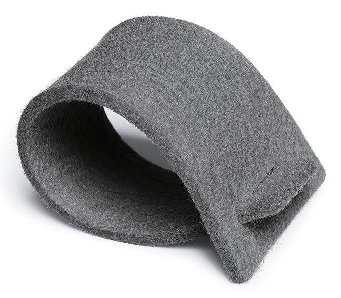 serviettenringe aus filz grau 03022 serviettenringe. Black Bedroom Furniture Sets. Home Design Ideas