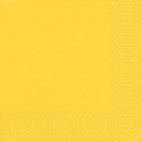Servietten - Uni gelb