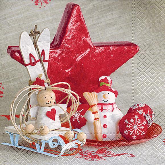 Servietten home dekoration 600262 weihnachten servietten von - Servietten dekoration ...