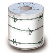Toilet paper - Barbed wire