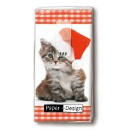 Handkerchiefs - Santa kitty