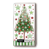 Handkerchiefs - Decorated tree
