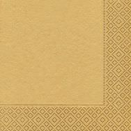 Cocktail napkins - Uni gold