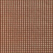 Cocktail napkins - Vichy brown