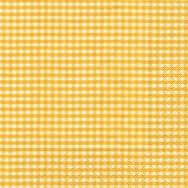 Napkins - Vichy yellow