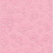 Napkins embossed - Moments Uni rose