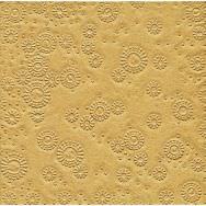 Napkins embossed - Moments Uni gold