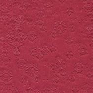 Napkins embossed - Moments Uni light bordeaux