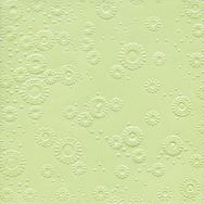 Napkins embossed - Moments Uni mint green