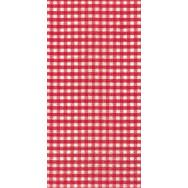 Buffet napkins - Vichy red