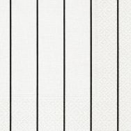 Cocktail napkins - Home white-black