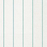 Cocktail napkins - Home white-aqua
