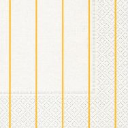 Cocktail napkins - Home white-yellow