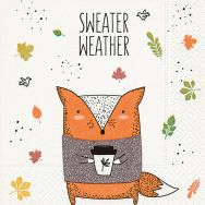 Cocktail napkins - Sweater weather