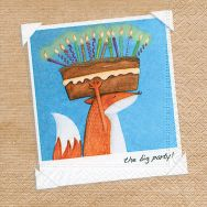Cocktail napkins - The big party