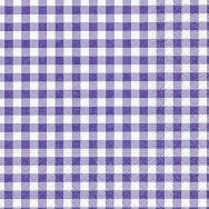 Cocktail napkins - New Vichy lavender