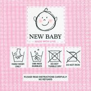 Cocktail napkins - New baby pink