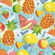 Cocktail napkins - Tropical fruits