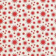 Cocktail napkins - A lot of stars red