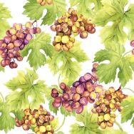 Cocktail napkins - Grapes