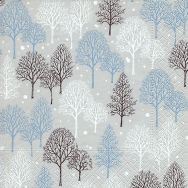 Cocktail napkins - Winter trees