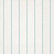 Dinner napkins - Home white-aqua