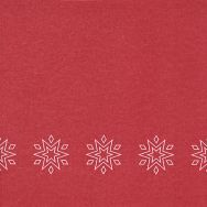 Dinner napkins - Starry red - Airlaid
