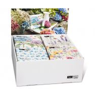 Display Napkins - Flower-Meadow - 24 packages