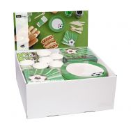 Display Football - Napkins, Cups, plates, Hankies