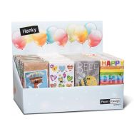 Display Hankies - Birthday - 24 packages