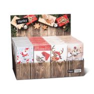 Display Hankies - Xmas - 24 packages