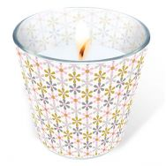 Candle in a glass - Flower net