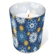 Candle in a glass - Filigree stars