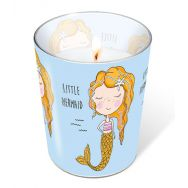 Candle in a glass - Little mermaid