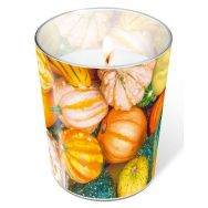 Candle in a glass - Pumpkin decoration