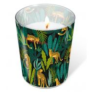 Candle in a glass - Leopards
