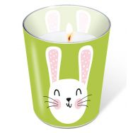 Candle in a glass - Cute Bunny