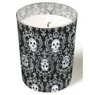 Candle in a glass - Skulls