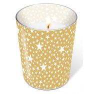Candle in a glass - Starlets gold