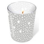Candle in a glass - Starlets silver