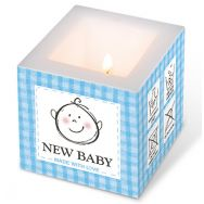Candle - New baby blue, small
