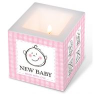 Candle - New baby pink, small