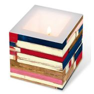 Candle - Colourful planks, small