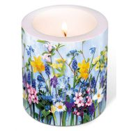 Candle - Spring flowers