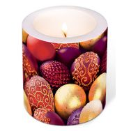 Candle - Ornamental silver