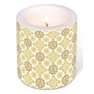 Candle - Ornamental gold