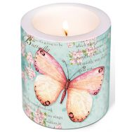 Candle - Butterfly poetry
