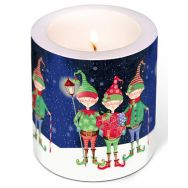 Candle - Christmas trolls