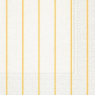 Napkins - Home white-yellow
