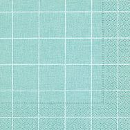 Napkins - Home square aqua